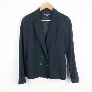 VINCE Double breasted Black Blazer